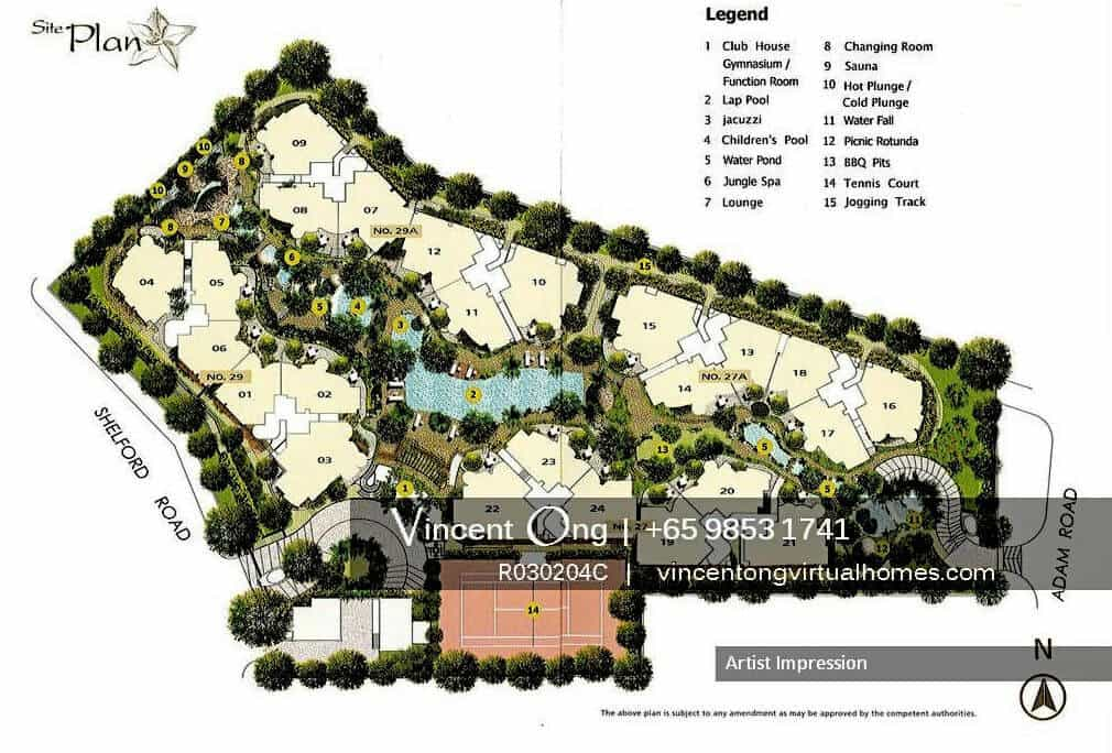adam park condo site plan call 6598531741