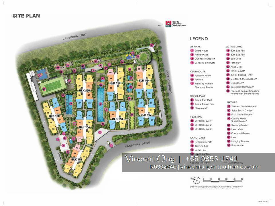 The Brownstone EC site plan call 6598531741
