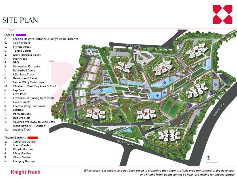 d'Leedon Site Plan call 6598531741