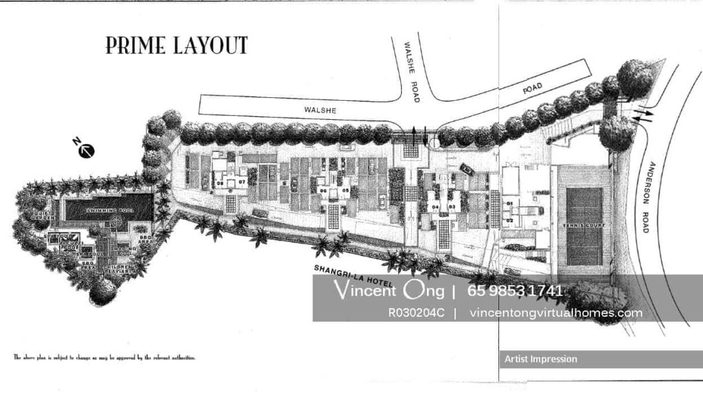 Gardenville @ Walshe Road Site Plan, call 6598531741