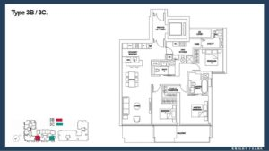 Marina One Residences 3 Bedroom Floor Plan call 6598531741