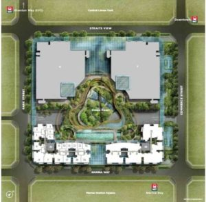 Marina One Residences Site Plan call 6598531741