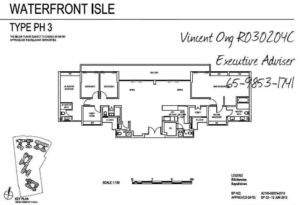 Waterfront Isle Floor Plan call 6598531741