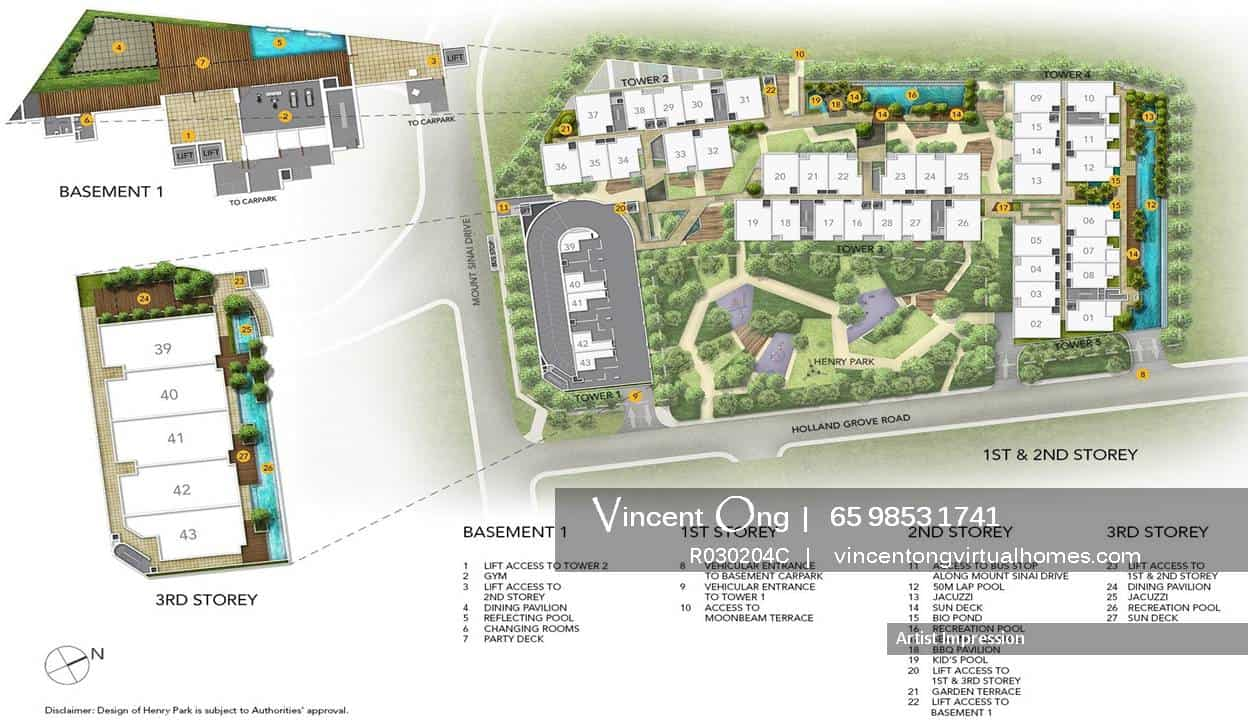 Parksuites @ Holland Grove Road Site Plan call 6598531741