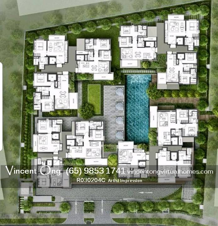 10 Evelyn @ Newton Site Plan with layout call 6598531741