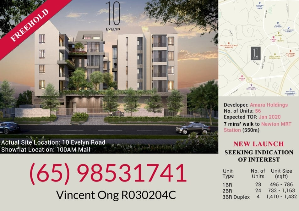 10 Evelyn @ Newton Location call 6598531741