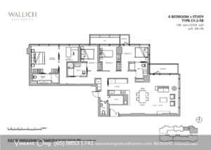 Wallich Residence Floor Plan call 6598531741
