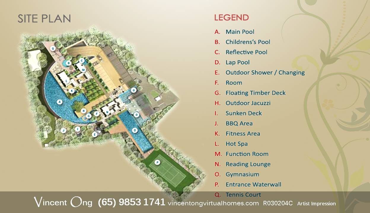 The Suites @ Central Site Plan