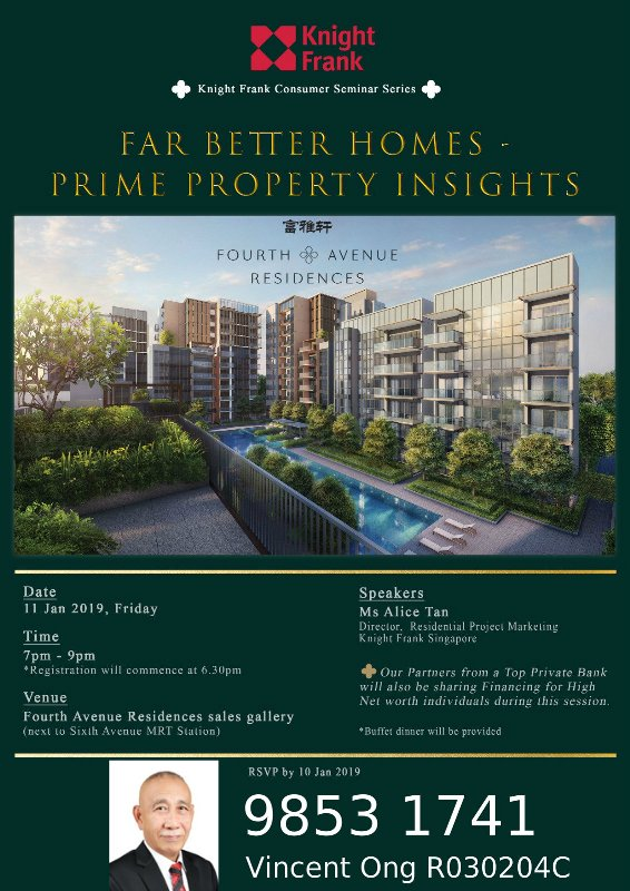 Fourth Avenue Residences Private Client Event (3) call 98531741