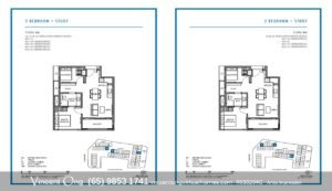 Parksuites 2 Bedroom+Study call 98531741