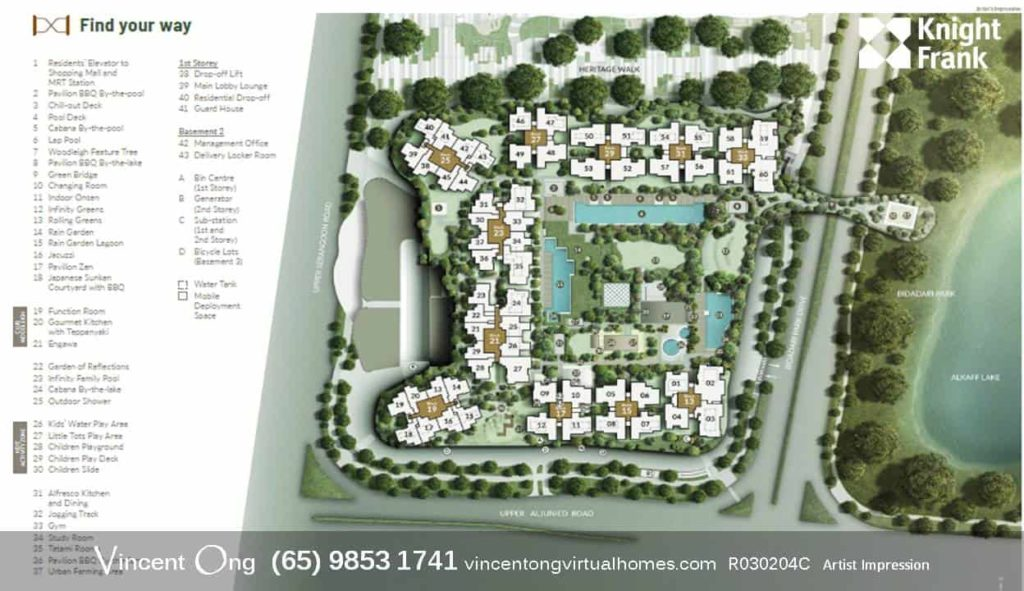 The Woodleigh Residences Site Plan call Project Core Team 98531741