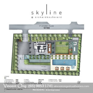 Skyline at Orchard Boulevard Site Plan