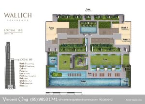 Wallich Residence Site Plan Level 39 Social 180 call 6598531741