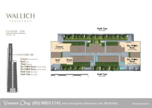 Wallich Residence Site Plan Level 52 Cloud 220 call 6598531741
