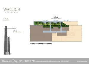 Wallich Residence Site Plan Level 62 Apex call 6598531741