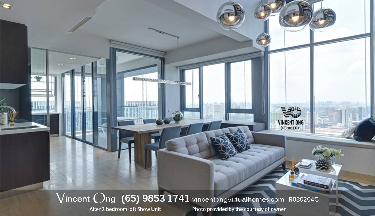 Altez 2 Bedroom Loft for Sale and Rent call 6598531741