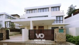 Bukit Villas Landed House at Rosok Drive for Rent, call 6598531741
