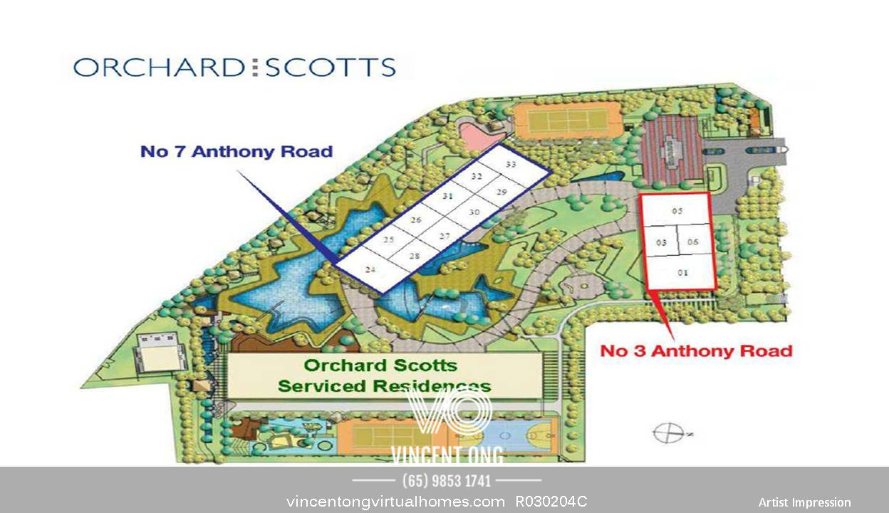 Orchard Scotts Site Plan