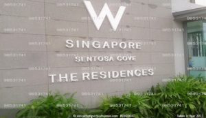 The Residences at W Singapore call 6598531741
