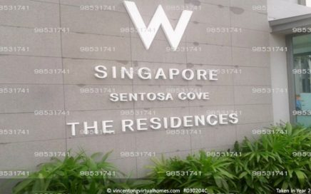 The Residences at W Singapore Sentosa Cove call 6598531741