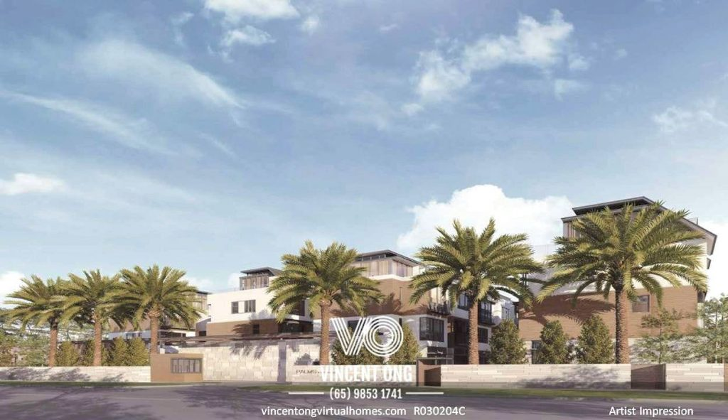 Palms @ Sixth Avenue 3 Storey Cluster Semi-Detached with Basement and Attic for Sale, call 6598531741
