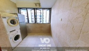 Pastoral View 1 Bedroom Apartment at District 11 for Rent, call 6598531741