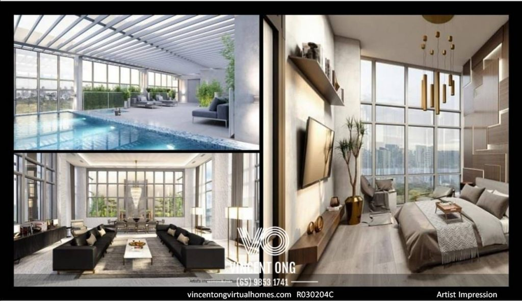 Alba 5BR Penthouse for Sale Artist Impression, call 6598531741